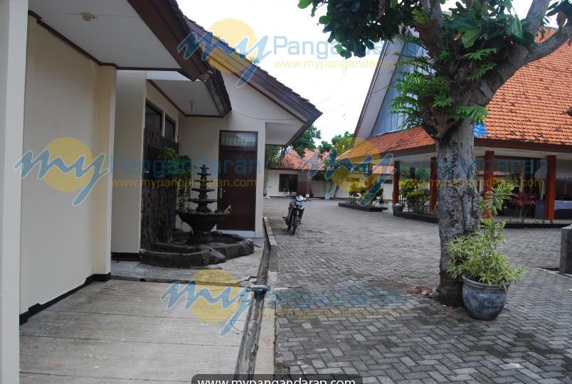 Tampilan depan Pamordian Hotel Pangandaran